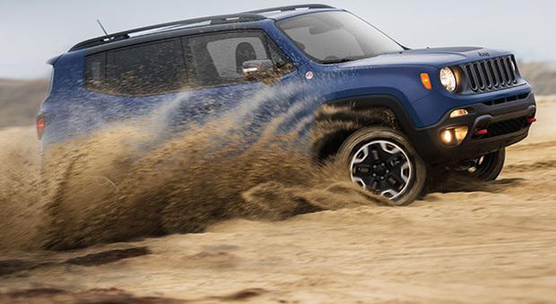 La Jeep Renegade, uno dei modelli di maggior successo del marchio americano