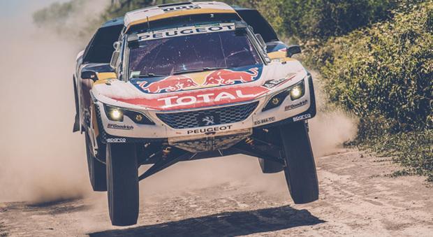 Stéphane Peterhansel su Peugeot 3008 DKR, campione uscente, ha vinto la 3° tappa