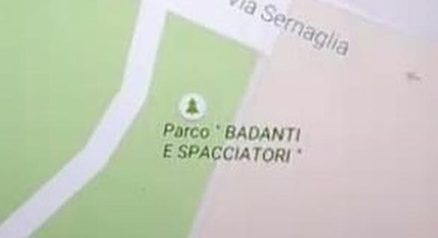 ÂŤParco badanti e spacciatoriÂť: cosĂŹ il giardino ha cambiato nome su Google Maps