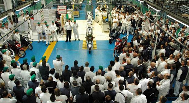 La fabbrica Honda ad Atessa, in provincia di Chieti
