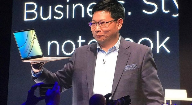 Huawei entra nell'arena dei pc: presentati tre MateBook