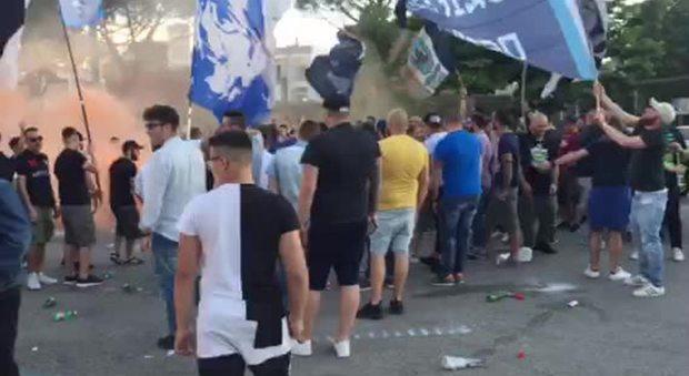 Sampdoria-Napoli 2-4, l'amarezza dei tifosi azzurri