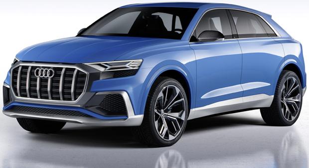 La nuova Audi Q8 concept
