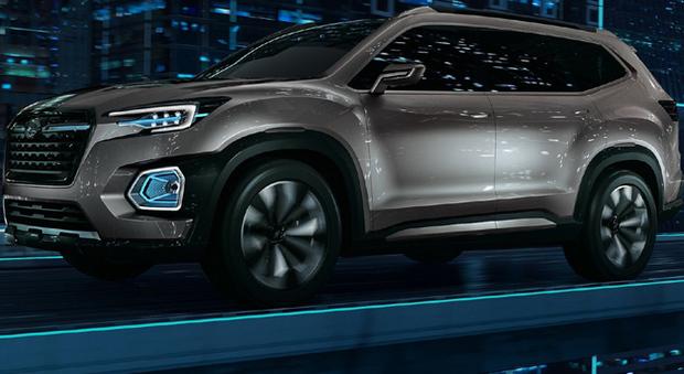 Il Subaru Viziv 7 Suv Concept presentato a Los Angeles