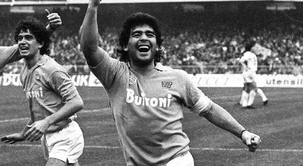 immagine Maradona, tutte le foto storiche dell'archivio Newfotosud proiettate al San Carlo