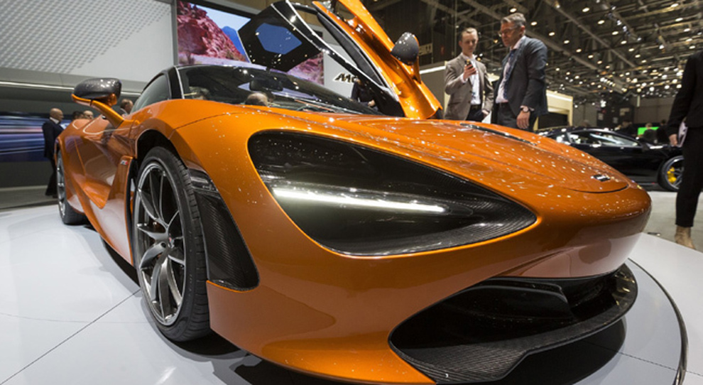 La McLaren 720S svelata a Ginevra