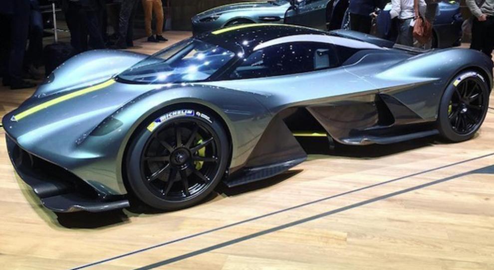La Aston Martin Valkyrie