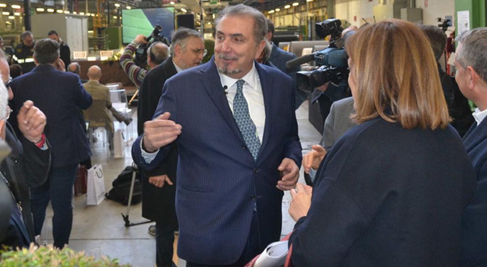 Il presidente e amministratore delegato di Alcantara, Andrea Boragno