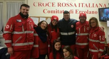 Freddo, i volontari della Croce Rossa salvano 8 clochard tra Torre e Ercolano