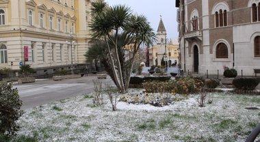 Benevento, tutti pronti alla bufera di neve