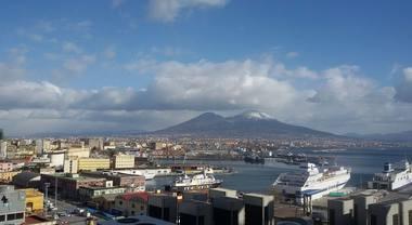 Arriva il gelo in Campania, le foto dei lettori del Mattino.it