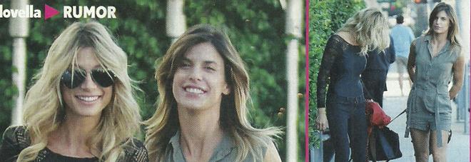 Elisabetta Canalis e Maddalena Corvaglia, passeggiata a Los Angeles