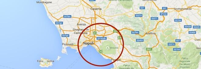 """La bufala del terremoto a Napoli. """"Scossa di magnitudo 2.4"""""""