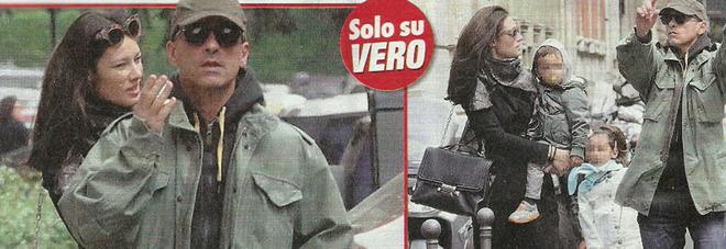 Eros Ramazzotti si arrabbia col paparazzo, poi consola la figlia Raffaella Maria