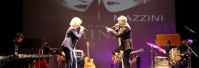 Susanna Amicucci e Paolo Notari sul palco del Teatro Cortesi di Sirolo