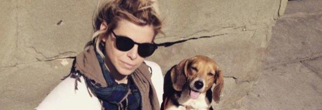 Ashley Olsen con il Beagle