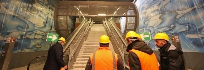 Ecco la stazione San Pasquale viaggio nel metrò sommerso