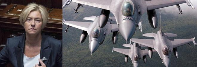Boato causato da un F16 di Aviano,  si muove il ministro della Difesa