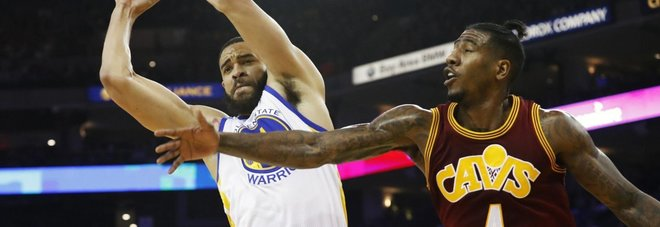 Nba, Golden State domina Cleveland: 126-91