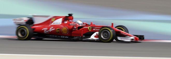 Vettel il migliore nelle prime libere Stop per Raikkonen