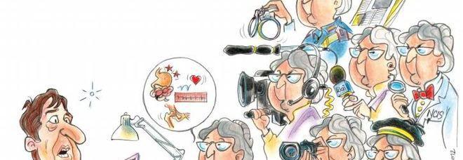 Una vignetta pubblicata sulla rivista dell'Amami