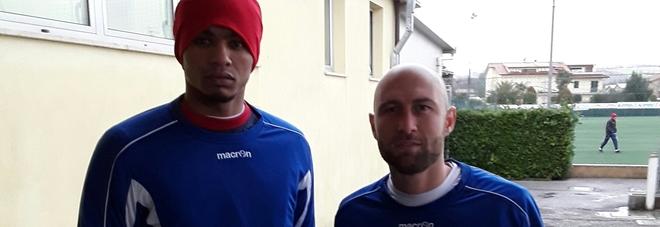 Il portiere Francesco Anacoura e il centrocampista Leandro Vitiello, volti nuovo dell'Ancona