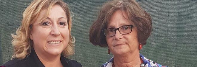Cristiana Camilloni con la mamma di Giulio Regeni