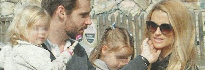 Michelle Hunziker e Tomaso Trussardi riunione di famiglia con le figlie Sole e Celeste -Foto