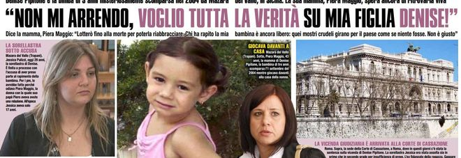 """Denise Pipitone, scagionata la sorella. La madre: """"Non mi arrendo, voglio la verità"""""""