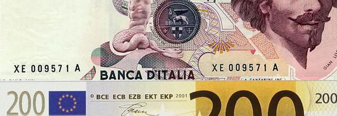Ha in cassaforte 35 milioni di lire,  impiegato chiede il cambio in euro