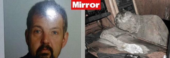Manfred Fritz Bajorat e il corpo mummificato (Mirror-polizia filippina)