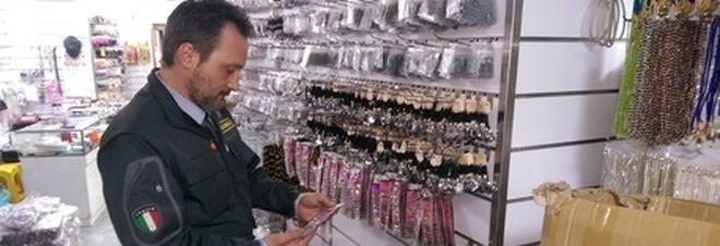 """Maxy sequestro di bigiotteria pericolosa """"made in China"""": 2 milioni"""