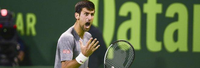 Doha, Djokovic si prende subito la rivincita: Murray ko, il serbo va in finale