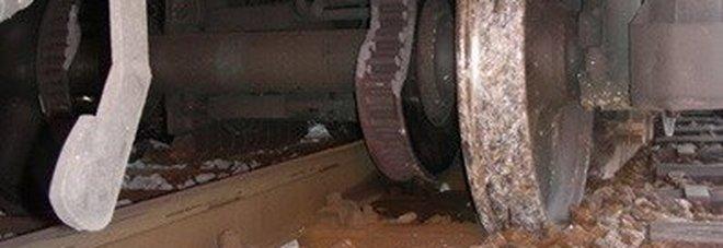 Deraglia un convoglio merci, caos  treni sulla linea Bologna-Padova