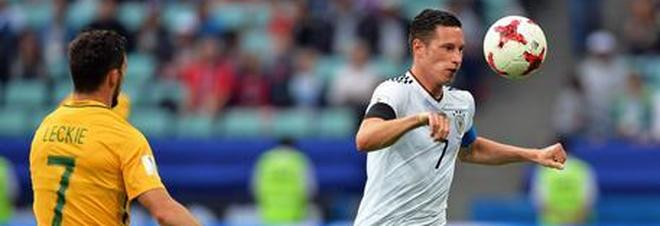 Confederations Cup, la Germania batte l'Australia 3-2