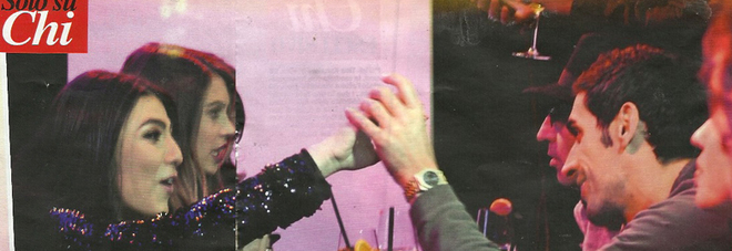 Filippo Magnini beato fra le donne brindisi e sorrisi con Giulia Salemi