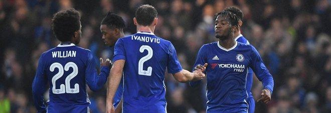 Fa Cup, Conte ok: il Chelsea cala il poker. Liverpool, 0-0 e formazione da record