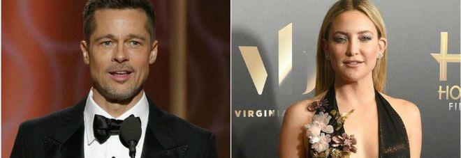Brad Pitt e Kate Hudson, storia confermata: «Stanno insieme»