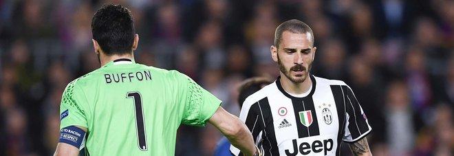 La Juventus verso il sorteggio, Bonucci: «Il triplete? È una questione di mentalità»