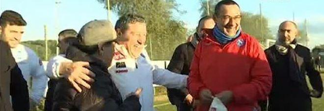 immagine Maradona: Sarri fa ottimo lavoro spero Milik giochi contro il Real