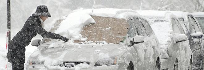 La nuova Macerata-Foligno chiusa per neve, niente tir su quella vecchia