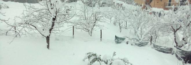 Neve e sisma: le frazioni isolate Ventunomila utenze ancora bloccate