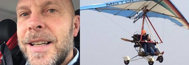 Carlo Caldon, morto cadendo con un deltaplano