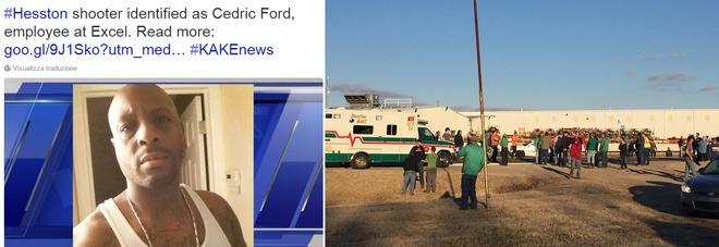 """Spara sui colleghi in Kansas, quattro morti. """"Venti feriti, 5 gravi"""""""