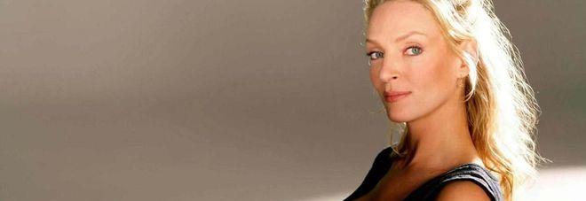 L'attrice Uma Thrman