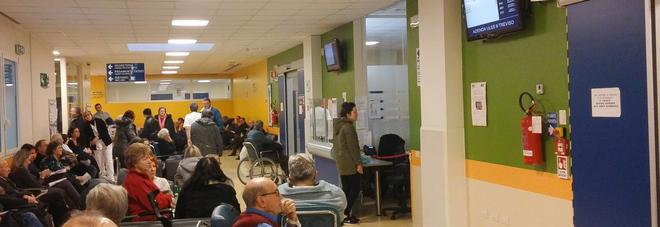 Il pronto soccorso dell'ospedale di Treviso venerdì sera