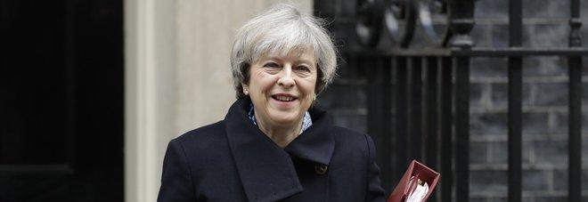 Il primo ministro Theresa May