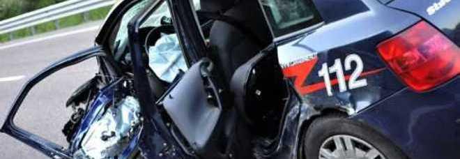 L'auto sulla quale viaggiava il militare morto (QuickService)