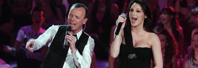 Gigi D'Alessio con Anna Tatangelo