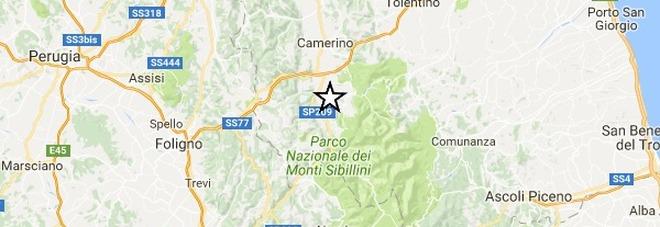 Ancora terremoto Una scossa di magnitudo 4.0 con epicentro vicino Camerino